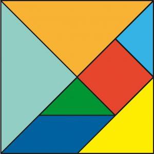 El tangram es un pasatiempo oriental que ya se ha hecho un hueco en nuestros cerebros