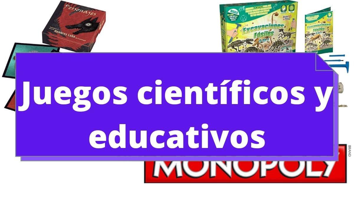 comprar juegos cientificos y educativos