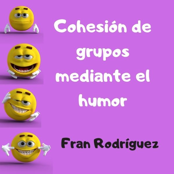 Un montón de juegos de presentación del libro cohesión de grupos mediante el humor