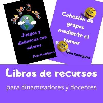 compra online nuestros libros de recursos para dinamizadores y docentes con cientos de dinámicas, juegos y actividades